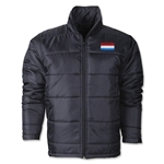 Luxembourg Bandera Polyfill Chaqueta Inflada