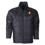 Senegal Flag Polyfill Puffer Jacket