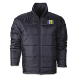 St. Vincent & Grenadines Flag Polyfill Puffer Jacket