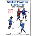 Soccer Practice Simplified for 5-9 Year Olds DVD