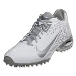 Nike Women's Ait Speedlax 4 Turf (White/Metallic Silver)