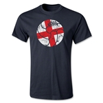 English Retro Ball T-Shirt (Black)