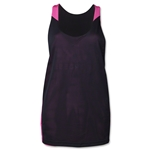 Nike Women's Lax Reversible Tank II (Black/Pink)
