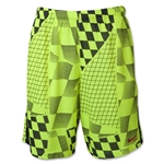 Nike Lax Print Short 1.3 (Lime)