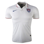 USA 14/15 Authentic Home Soccer Jersey
