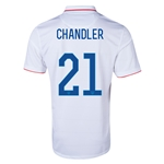 USA 2014 CHANDLER Home Soccer Jersey