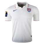 USA 14/15 Home Soccer Jersey w/ CONCACAF Patch