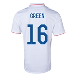 USA 2014 GREEN Home Soccer Jersey