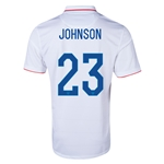 USA 14/15 JOHNSON Home Soccer Jersey