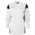 Nike Women's Long Sleeve Academy 14 Midlayer (Wh/Bk)