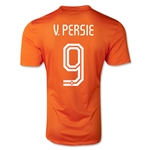 Netherlands 14/15 V. PERSIE Authentic Home Soccer Jersey