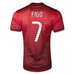 Portugal 2014 FIGO Authentic Home Soccer Jersey