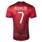 Portugal 14/15 RONALDO Authentic Home Soccer Jersey