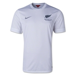 New Zealand 2014 Home Soccer Jersey