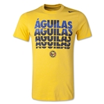 Club America Core Type Camiseta de Futbol