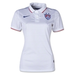 USA 2014 Women's Home Soccer Jersey