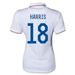 USA 14/15 HARRIS Women's Home Soccer Jersey