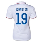 USA 14/15 JOHNSTON Women's Home Soccer Jersey