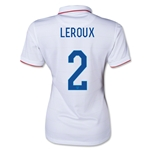 USA 14/15 LEROUX Women's Home Soccer Jersey