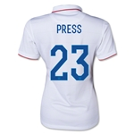 USA 14/15 PRESS Women's Home Soccer Jersey