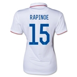 USA 14/15 RAPINOE Women's Home Soccer Jersey