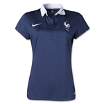 France 2014 Women's Soccer Jersey