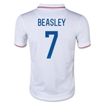 USA 2014 BEASLEY Youth Home Soccer Jersey