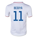 USA 14/15 BEDOYA Youth Home Soccer Jersey