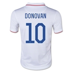 USA 2014 DONOVAN Youth Home Soccer Jersey