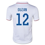 USA 2014 GUZAN Youth Home Soccer Jersey