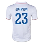 USA 14/15 JOHNSON Youth Home Soccer Jersey