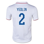 USA 14/15 YEDLIN Youth Home Soccer Jersey