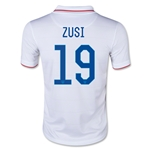 USA 14/15 ZUSI Youth Home Soccer Jersey
