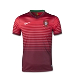 Portugal 14/15 Youth Home Soccer Jersey