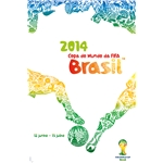 2014 FIFA World Cup Brazil(TM) Official Poster (Portuguese)