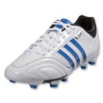 adidas 11Nova TRX FG-miCoach compatible (Running White/Bright Blue/Black)