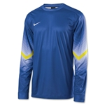 Nike Long Sleeve Goleiro Jersey (Royal)