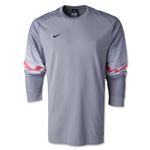 Nike Long Sleeve Goleiro Jersey (Gray)