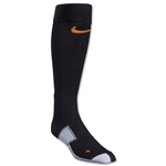 Nike Elite Match Fit Soccer Sock (Blk/Orange)