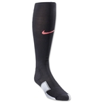 Nike Elite Match Fit Soccer Sock (Black/Pink)
