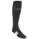 Nike Elite Match Fit Soccer Sock (Blk/Red)