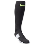 Nike Elite Match Fit Soccer Sock (Blk/Yellow)