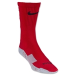 Nike Stadium Crew Soccer Sock (Red/Blk)