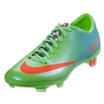 Nike Mercurial Veloce FG (Neo Lime/Metallic Silver/Polarized Blue)
