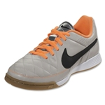 Nike Junior Tiempo Genio Leather IC (Desert Sand/Black)