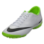 Nike Mercurial Victory IV TF (White/Black/Electric Green)