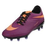 Nike Hypervenom Phelon FG Women's Cleats (Bright Magenta/Atomic Orange Black/Atomic Violet)