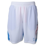 Under Armour Sky's Out Thighs Out Short (White)