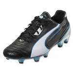 PUMA King SL FG (Black/White/Fluo Blue)