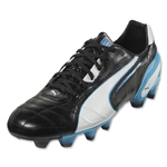PUMA King FG (Black/White/Fluo Blue)